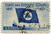 "JAV pašto ženklas ""Coast and Geodetic Survey"""